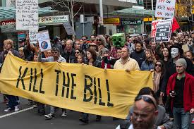 Auckland protest against the GCSB Bill 27 July 2013