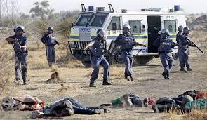 The massacre at Marikana