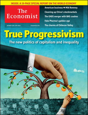 Even the Economist, the house journal of British finance capital, is getting in on the act, fearing the social and economic consequences of massive inequality