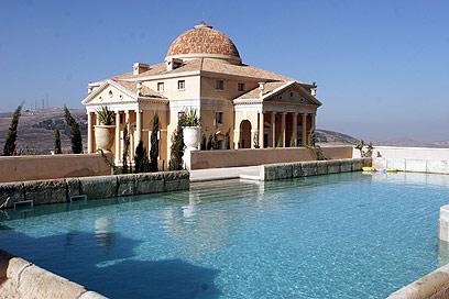 Munib al-Masri, a Home of Munib al-Masri, the richest man in the Palestinian Authority.