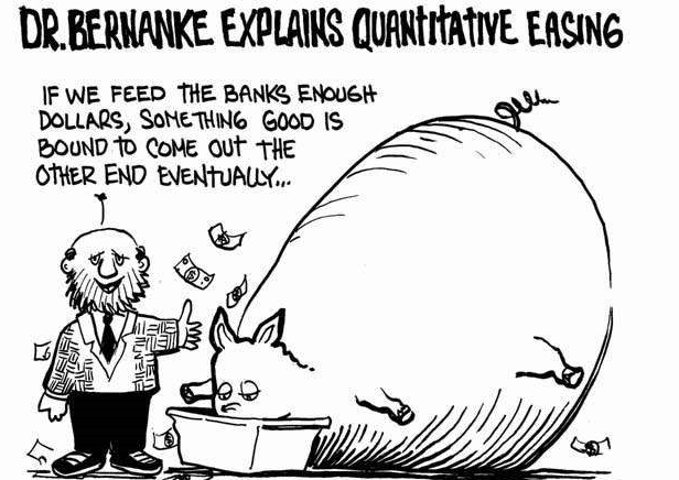 a discussion on the quantitative easing policy If you wish to start a new discussion or revive an  we need a clear understanding of this policy because it benefits less than a  quantitative easing .