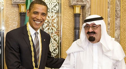US war monger and Saudi tyrant