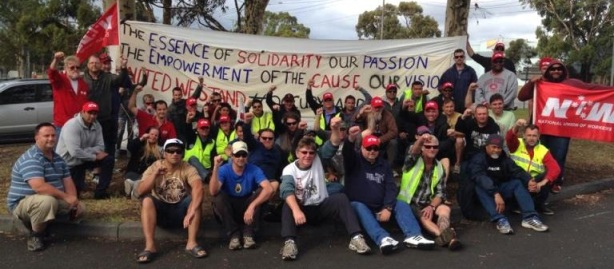 In late January of this year food workers at a factory in Dandenong, Victoria, carried out a five-day occupation which led to their demands being met