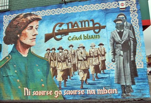Early 1900s Irish republican women's movement, Cumann na mBan: no liberation without the liberation of women