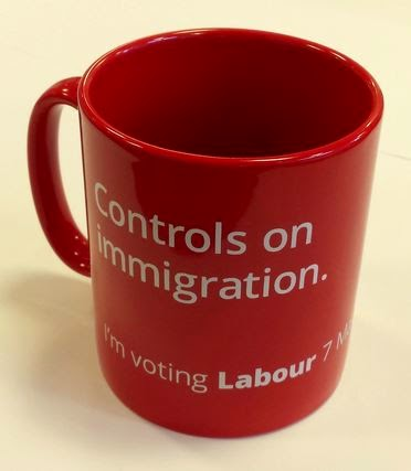 Labour immigration mug