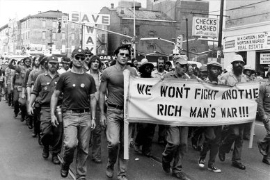 US society was changing dramatically.  The image above reflects the early stages of the development of 'The New South'; this is an anti-Vietnam War protest in Charlotte, North Carolina