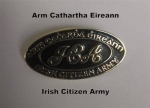 irish Citizen Army badge
