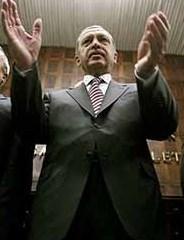 Turkish strongman/president Recep Tayyip Erdoğan