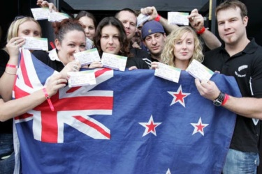 NZ nationalism binds all classes together and acts to block workers' class consciousness