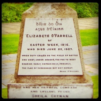 Elizabeth O'Farrell and Sheila (Julia) Grennan - partners in life and revolution