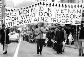 Protest against NZ role in invasion of Vietnam: NZ imperialism has a long record of attacking other countries and their peoples