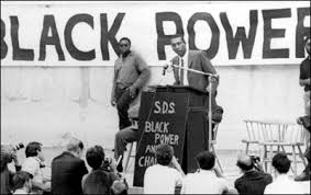 The Black Power slogan of the 1960s was replaced with empowerment for the black American middle class and burgeoning capitalist layers