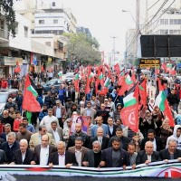 PFLP march to protest recent PA activities