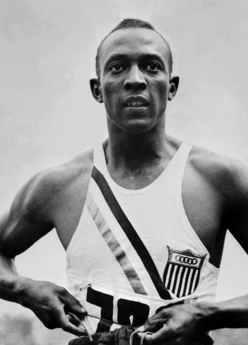 Jesse Owens, one of the greatest track athletes of all time was shunned by Hitler and Roosevelt alike