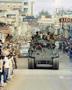Rebel Army enters Havana