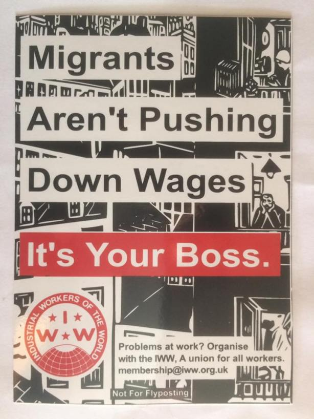 Fight the boss, not other workers